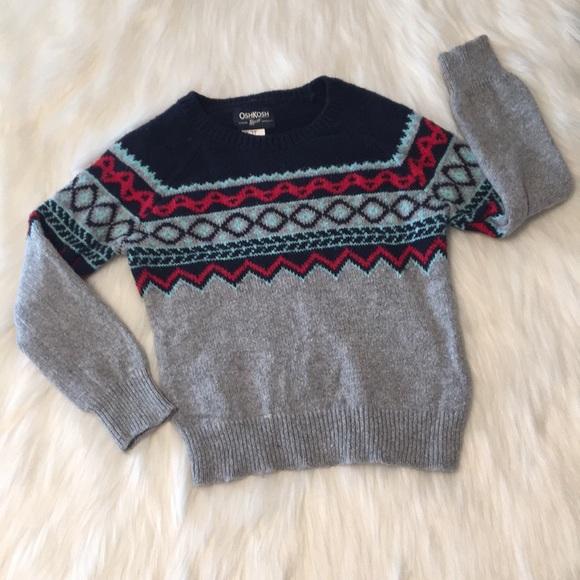 NEW Sweater Toddler Girl Black Cream OshKosh Osh Kosh  NWT Size sz 2T 3T